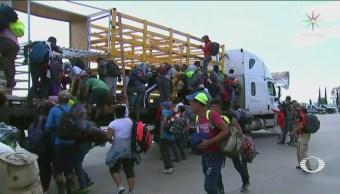 Caravana Migrante Se Divide Dejan CdmX Quedan