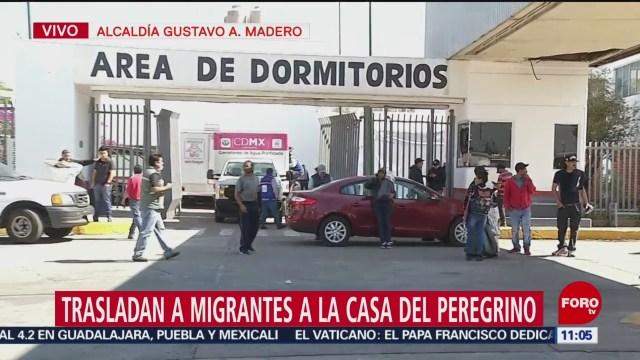 Caravana migrante será trasladada a la Casa del Peregrino