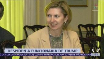 Casa Blanca anuncia salida de Mira Ricardel, asesora de Seguridad Nacional de Trump