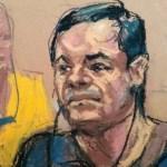 Chapo Guzmán deja fuera a candidato a jurado por autógrafo