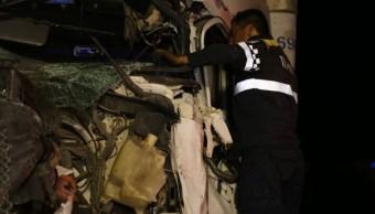 Desaparece empresa del tráiler involucrado en accidente de Santa Fe
