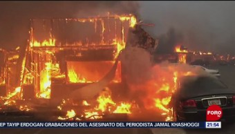 Cientos de desaparecidos por incendios en California