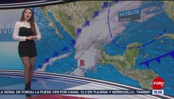 Clima con Mayte Carranco del 29 de noviembre de 2018