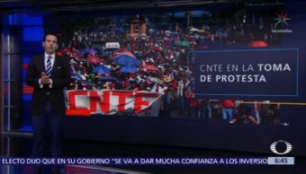 CNTE anuncia marcha en la CDMX este 1 de diciembre