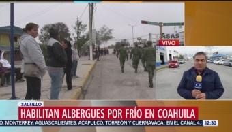 Coahuila registra bajas temperaturas por el frente frío 11