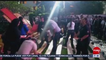 Colapso de gradas en hotel deja 38 lesionados en Nayarit