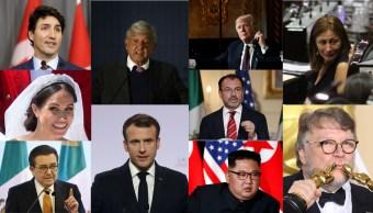 Los personajes más influyentes de 2018