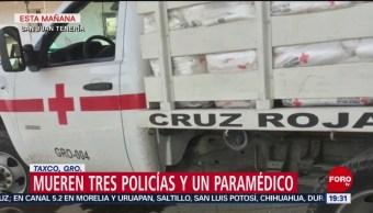Comando mata a 4 en San Juan Tenería, en Taxco, Guerrero