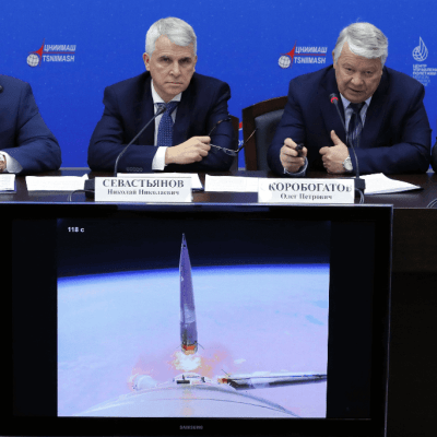 Sensor deformado originó falla en lanzamiento de la nave Soyuz