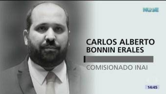 Comisionado de INAI fallece de infarto