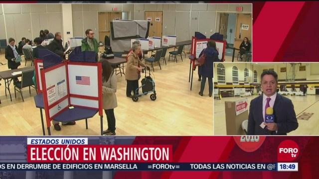 Cómo se vota en una casilla en Estados Unidos