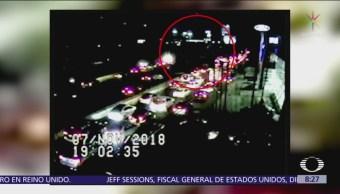 Continúa saturada la circulación en Autopista México-Toluca