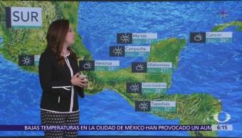 Continuará ambiente frío en gran parte de México