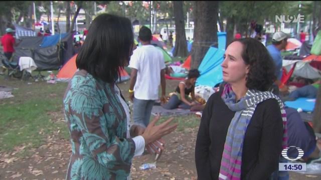 Convocan a 'ropatón' para ayudar a migrantes