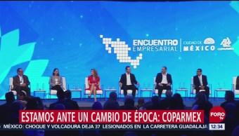 Coparmex exhorta a López Obrador mantener equilibrio en finanzas públicas