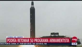 Corea Del Norte Advierte Retomar Programa Nuclear Estados Unidos