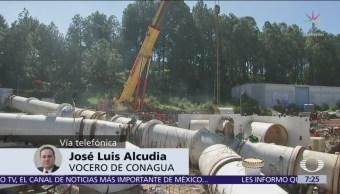Corte de agua sí sirvió, aunque fallara colocación de K invertida, dice Conagua