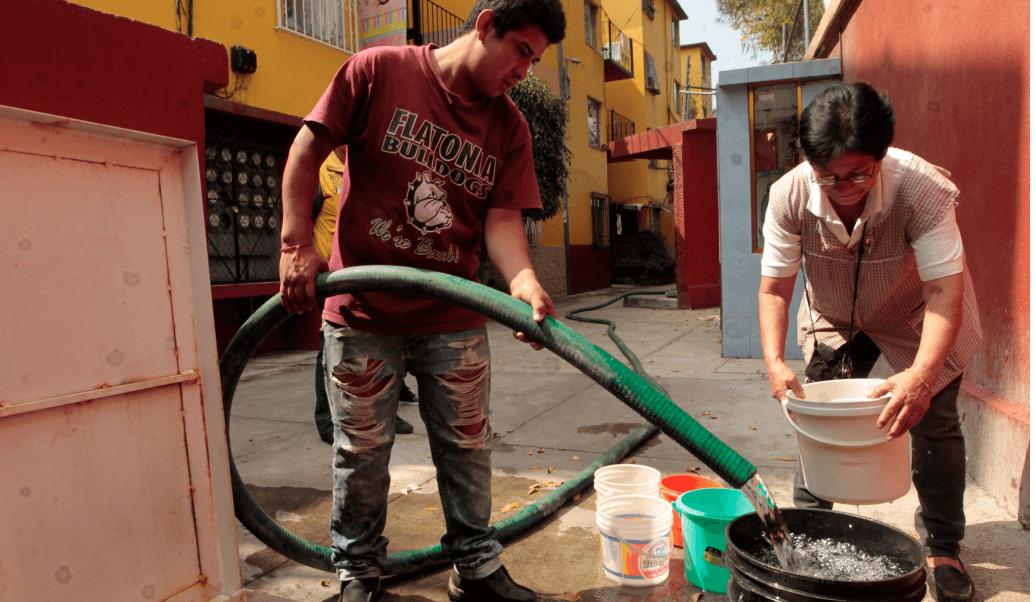 Amieva: Suministro de agua al 100% hasta el fin de semana