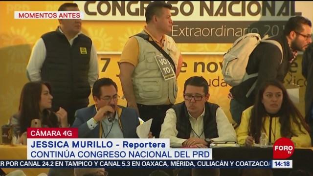 Desaparecerá el Comité Ejecutivo Nacional del PRD