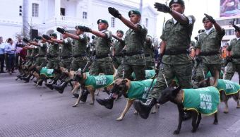 Realizan desfile por inauguración de la Tercera Brigada