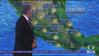 Despierta con Tiempo: Tormentas fuertes en Nayarit, Jalisco y Colima