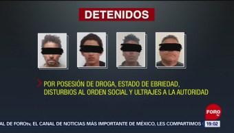 Detienen Integrantes Caravana Migrante Tijuana Centroamericanos