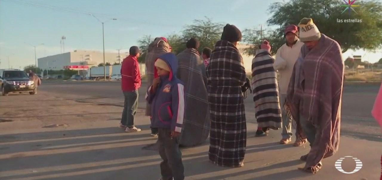 Detienen Migrantes Que Viajaban Hacia Tijuana