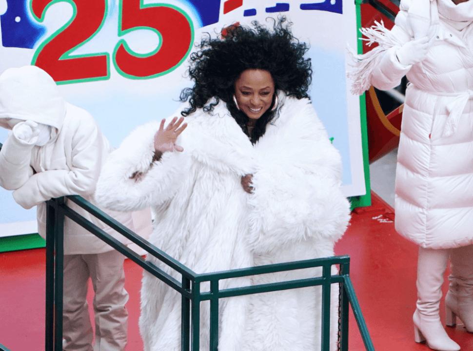 Diana Ross participó en el desfile en Nueva York. (Reuters)