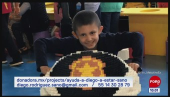 Diego Rodríguez lucha contra un cáncer cerebral