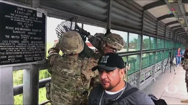 Difunden Imágenes Despliegue Militar Frontera México-Eu