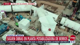 Director de Conagua recorre planta potabilizadora en mantenimiento