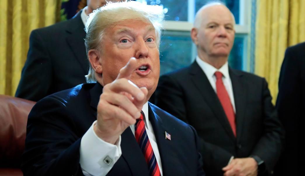 Trump responde por escrito a preguntas de la trama rusa