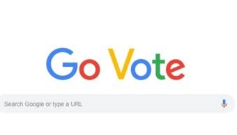 Google ordena ir a votar en elecciones intermedias