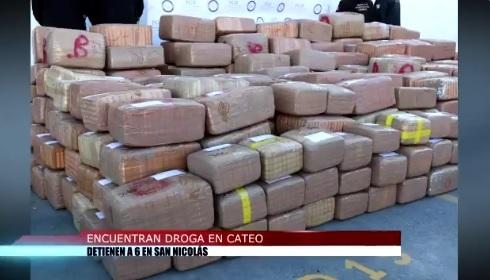Seguridad NL; aseguran más de 3 toneladas de marihuana cateo