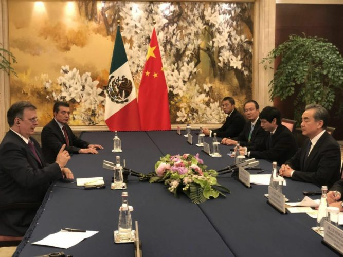 Ebrard: China es país clave en estrategia económica de AMLO