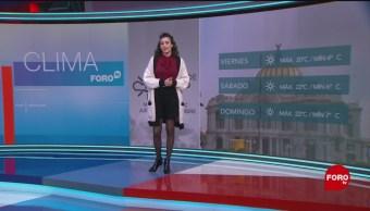 El Clima 'A las Tres' con Daniela Álvarez del 15 de noviembre de 2018