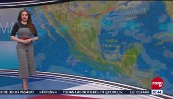 El clima con Mayte Carranco, a las 18:00 horas