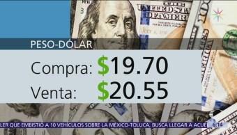 El dólar se vende en $20.55
