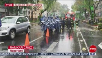 Reabren circulación vial tras caída de árbol en Eje Central