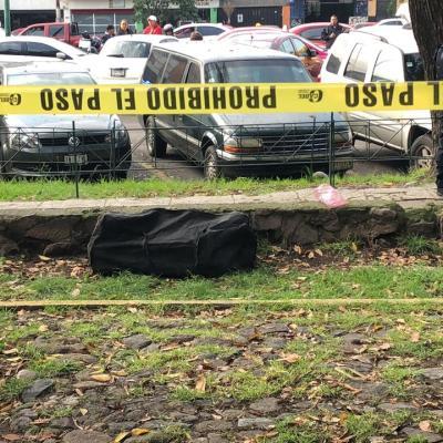 Encuentran maleta con restos humanos en Tlatelolco, CDMX