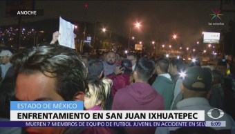 Enfrentamiento en San Juan Ixhuatepec, Estado de México