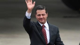 Peña Nieto firma T-MEC; cierra sexenio con 'broche de oro', según Trump