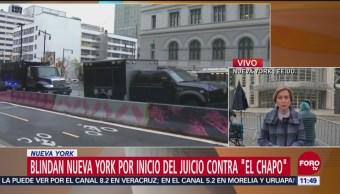 Entrevistan a candidatos para formar jurado del juicio contra 'El Chapo' Guzmán