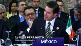 EPN Propone Pacto Mundial Migración Regular