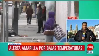 Esperan temperatura de menos cuatro grados en Ciudad Juárez