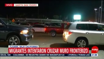 Estados Unidos Reabre Garita Fronteriza De San Ysidro Autoridades De Estados Unidos Migrantes Centroamericanos