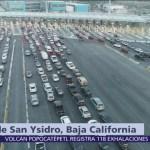 Estados Unidos sigue reforzando barricada en garita de San Ysidro