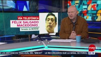 Félix Salgado Macedonio: Pide a gobernadores del PAN aceptar 'superdelegados'