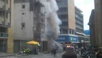 Una explosión sacude sede de la Fiscalía en Cali, Colombia