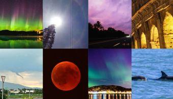 Los ocho fenómenos naturales más hermosos de 2018